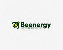 Beenergy logo design template