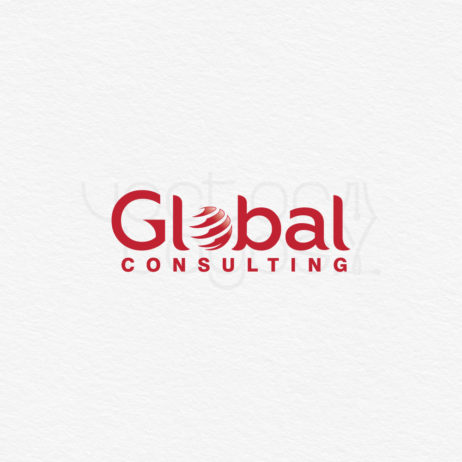 Global Consulting logo design template