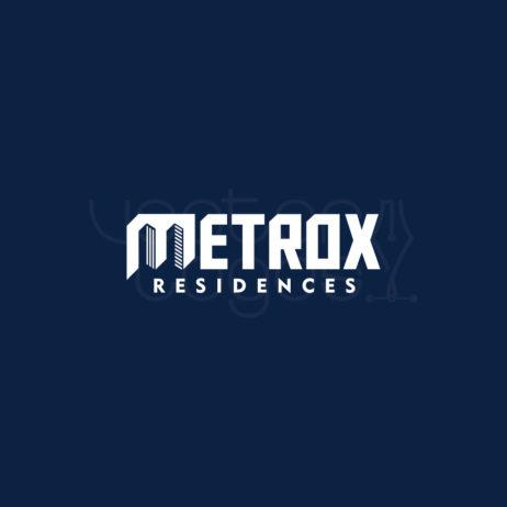 metrox residences logo preview negative