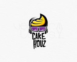 CakeHouz logo design