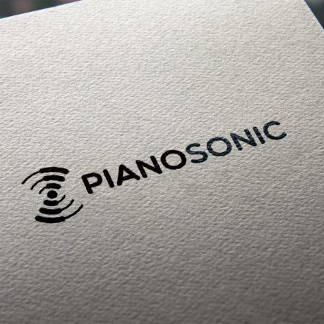 PianoSonic logo design