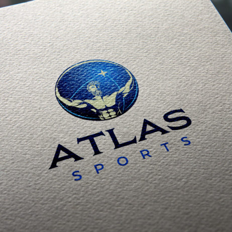 atlas sports logo mockup 1