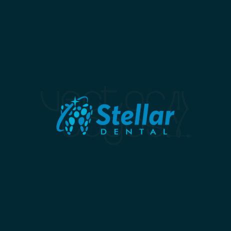 Stellar Dental logo design