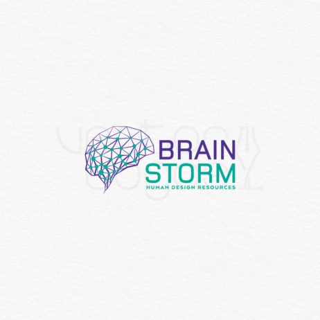 brainstorm logo design positive