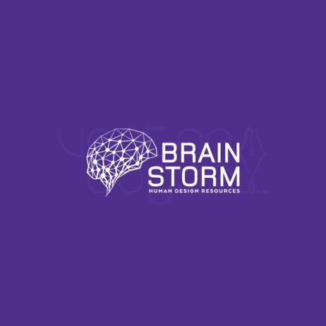 brainstorm logo design white 1