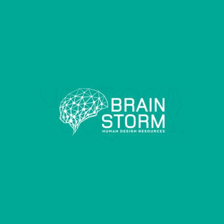 brainstorm logo design white 2