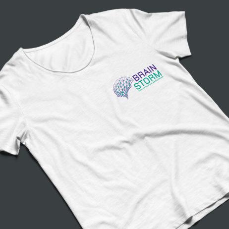 brainstorm t-shirt mock-up
