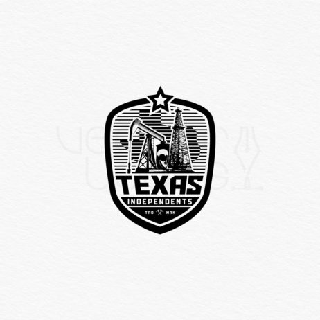 texas independents logo emblem black
