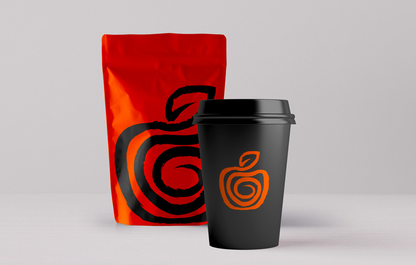 coffee packaging mockup