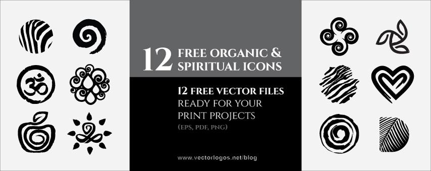 organic-spiritual icons and symbols