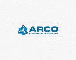 arco electrical solutions logo design