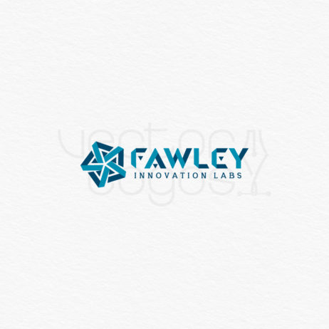 Fawley Innovation Labs logo design template