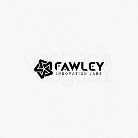 Fawley Innovation Labs logo design template black