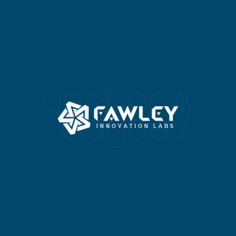 Fawley Innovation Labs logo design template white