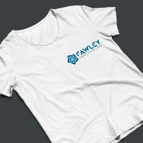 Fawley Innovation Labs t-shirt mock-up