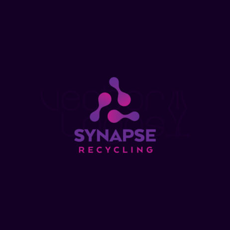 synapse recycling logo design