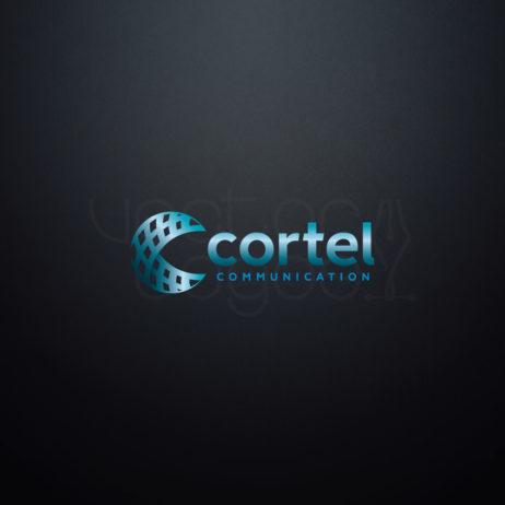 cortel communication logo color