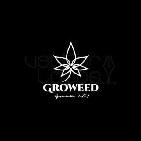 groweed logo negative