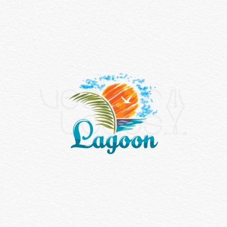 lagoon logo design