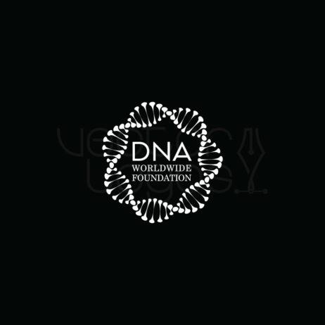DNA Worldwide Foundation logo invert