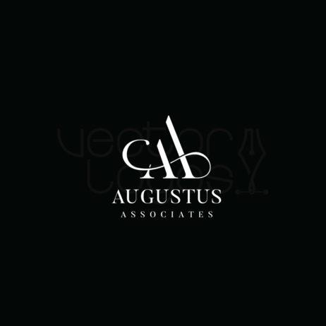Augustus associates logo invert