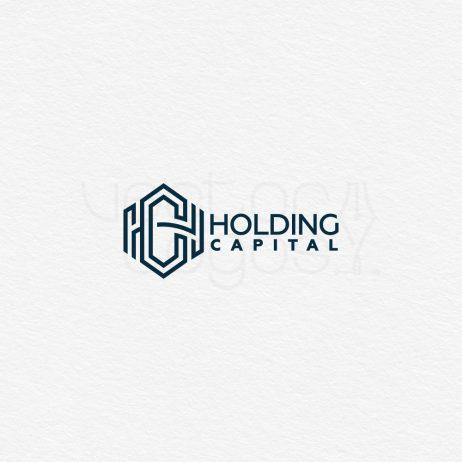 Holding Capital logo design