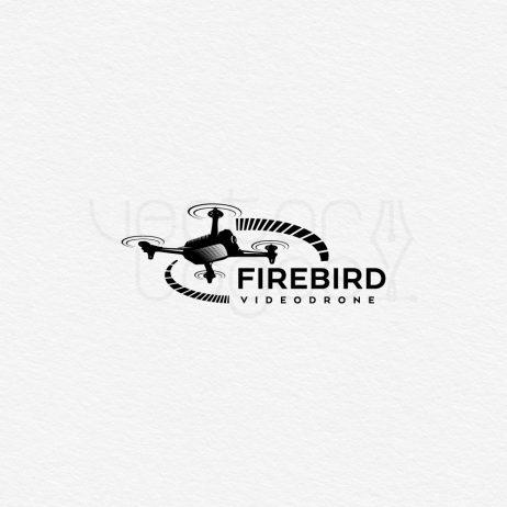 firebird logo black