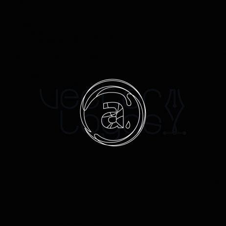 aqua logo invert