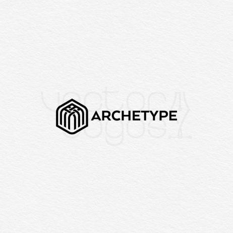 archetype logo black