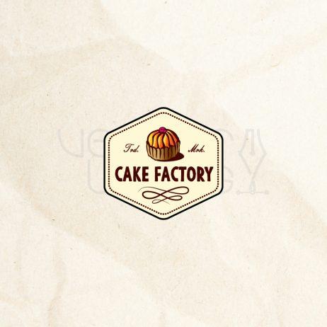 cake factory logo color