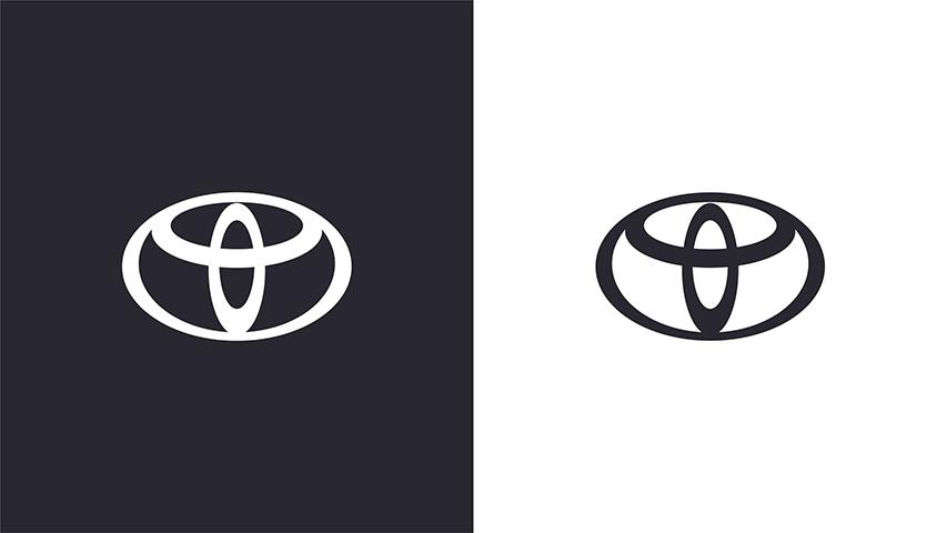 toyota new flat logo