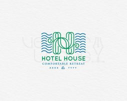 hotel house logo