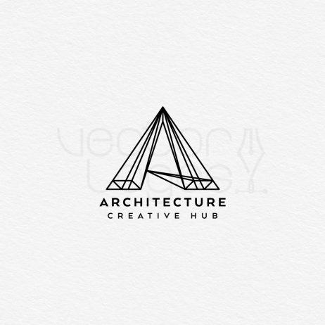 architecture logo design black