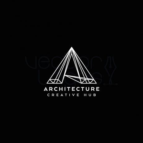 architecture logo design invert