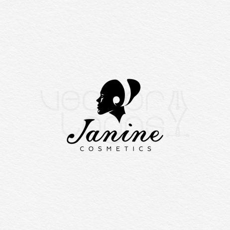 janine logo black