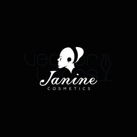 janine logo invert