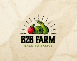 B2B Farm logo design