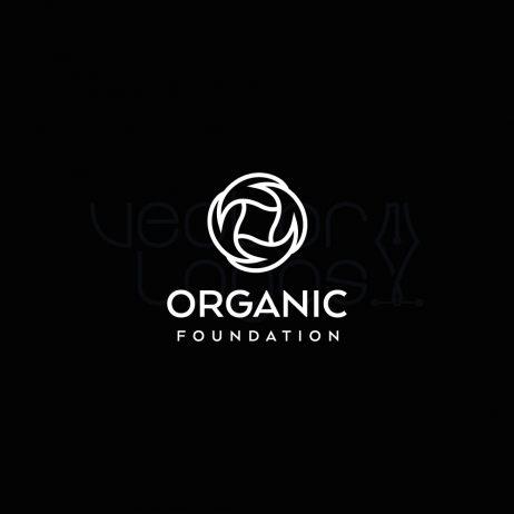 organic foundation logo invert