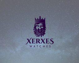 xerxes logo design