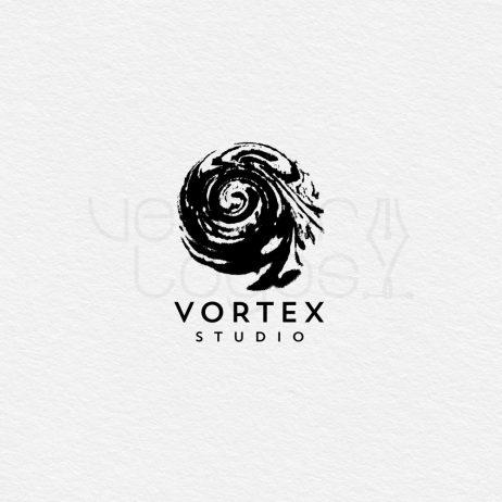 vortex studio logo black