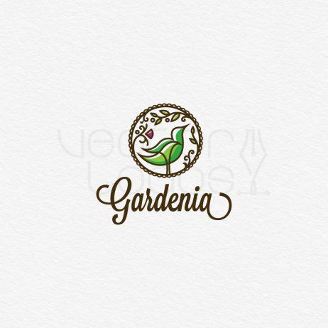 gardenia logo design