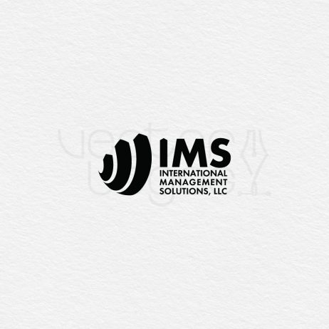 ims logo design black