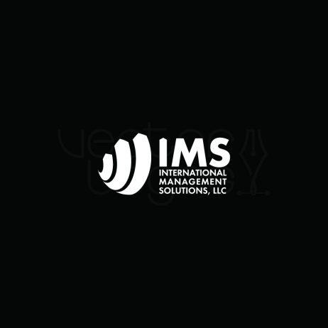 ims logo design white