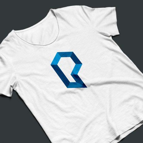 proton technologies symbol t-shirt mock-up