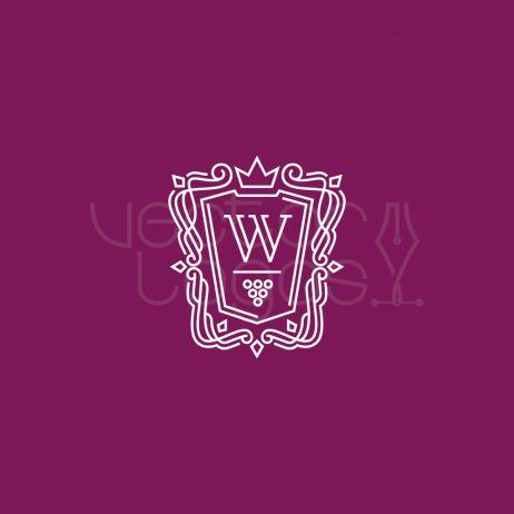 wine cellar logo white