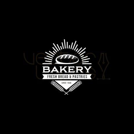 bakery logo invert