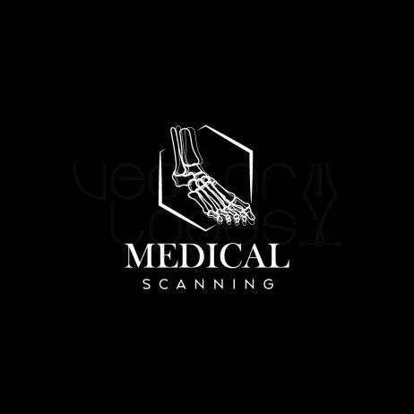 medical scanning logo invert