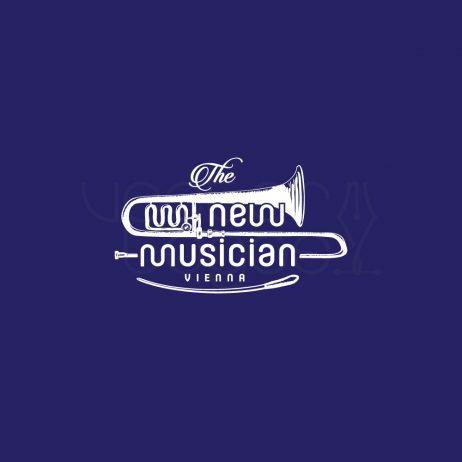 new musician logo invert