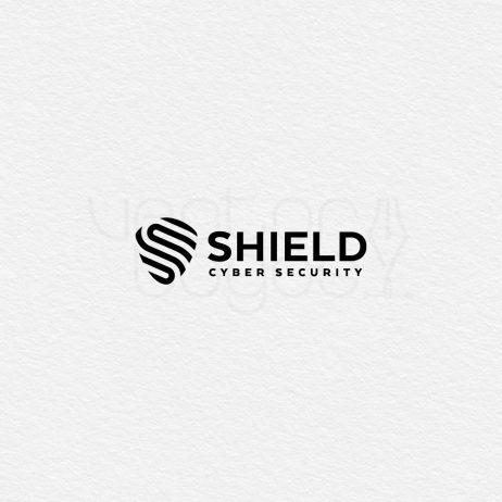 cyber security logo black