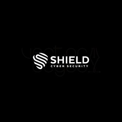 cyber security logo invert